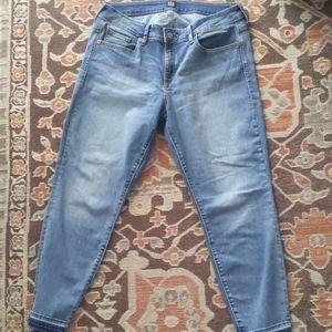 GAP 1969 Curvy True Skinny Cropped Ankle Jeans